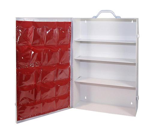 4 Shelf First Aid Kit- Empty