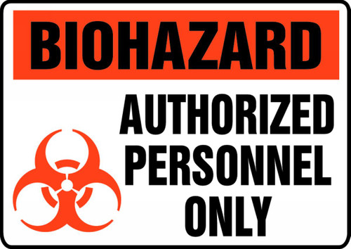 Biohazard Authorized Personnel Only (W/Graphic) 1
