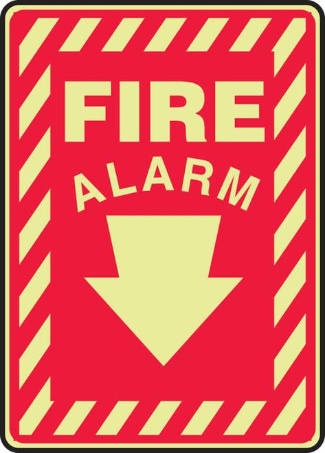 Fire Alarm Glow Sign