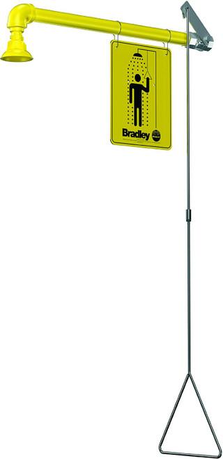 Bradley S19-120BF Barrier Free Emergency Shower Horizontal Supply
