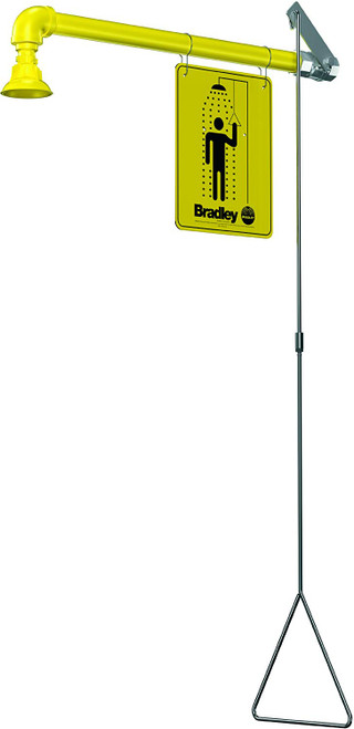 Bradley S19-120BF Barrier Free Emergency Shower Horizontal Supply