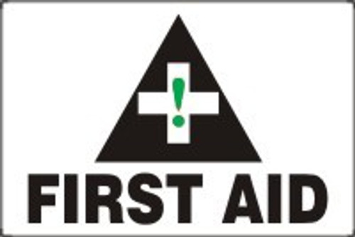 First Aid Sign- BIG Sign MFSD934