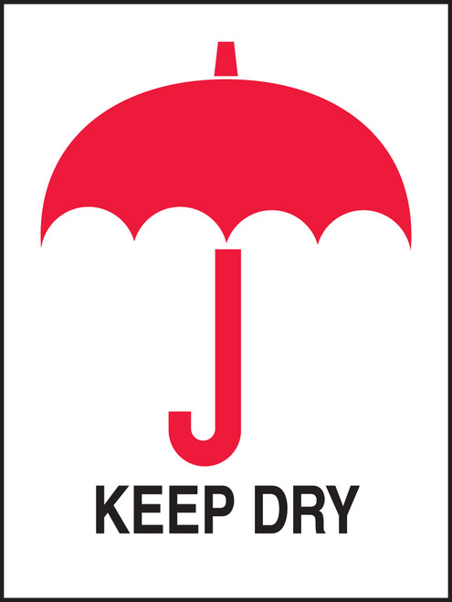 Keep Dry Shipping Labels
