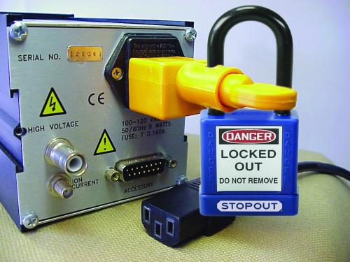 Power Cord Plug Lockout
