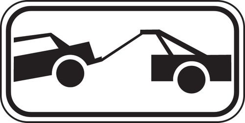 Tow-away Graphic Sign