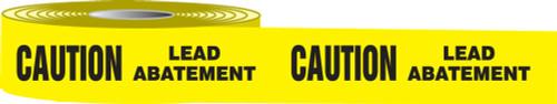 Caution Lead Abatement Barricade Tape