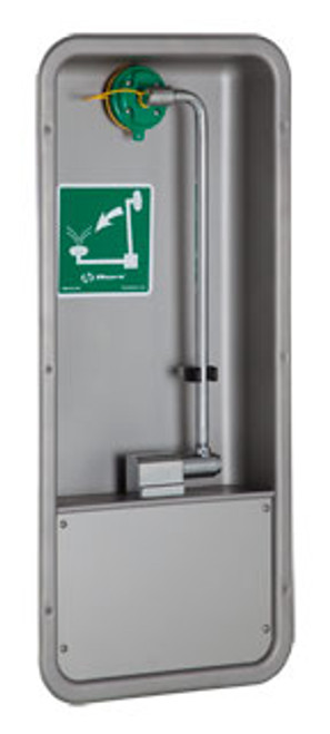 Haws 7655WCC Recessed Barrier-Free Eye/Face Wash, Pull Down Eye/Face Wash