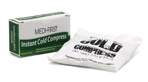 Small Boxed Cold Compress Ice Pack - 48/Case