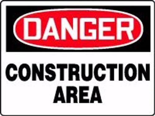 Danger - Construction Area 1