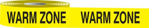 Warm Zone Barricade Tape