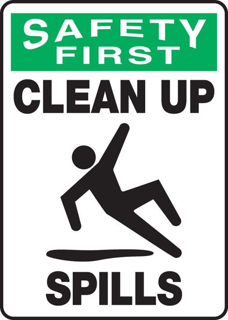 Safety First - Clean Up Spills