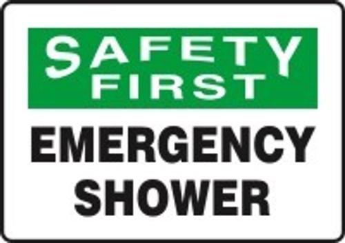 Safety First Emergency Shower
