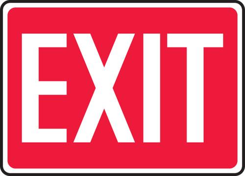 Exit - .040 Aluminum - 10'' X 14''