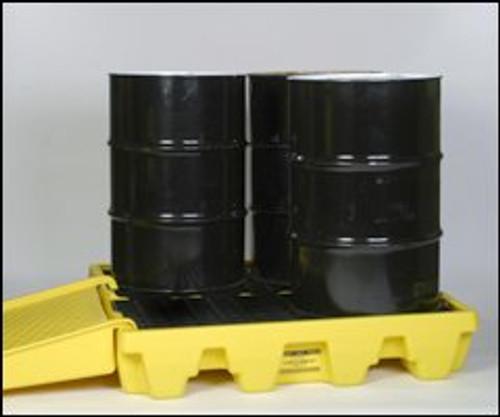 Eagle 4 Drum Pallet Unit - Low Profile