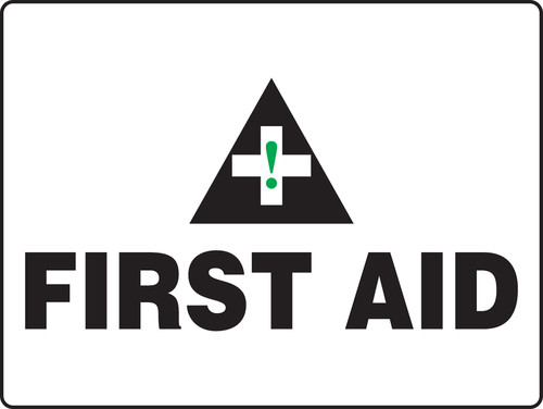 First Aid (Premiers Soins) - Plastic - 14'' X 10'' 1