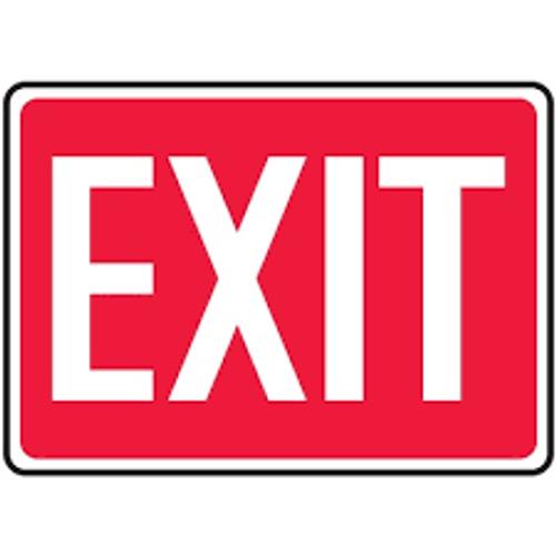 Exit - Re-Plastic - 10'' X 14'' 1