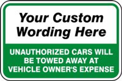 ___ Unauthorized Cars Will Be Towed Away At Vehcile Owner''s Expense