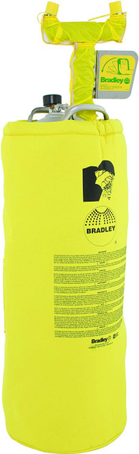 Bradley S19-788H Portable Pressurized Eyewash 15 gallon with heater