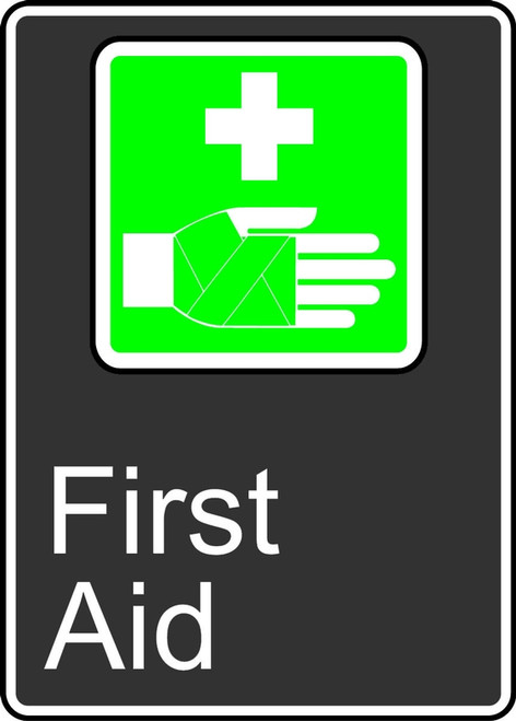 First Aid (Premiers Soins) - Plastic - 14'' X 10''