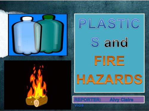 Fire Hazard - Plastic - 6''
