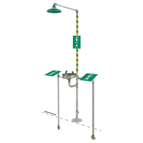 Haws 8300FP Freeze protected Emergency Shower