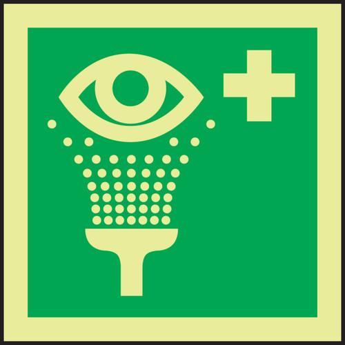 Eye Wash IMO Sign