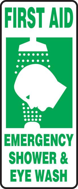 First Aid Emergency Shower & Eye Wash Sign