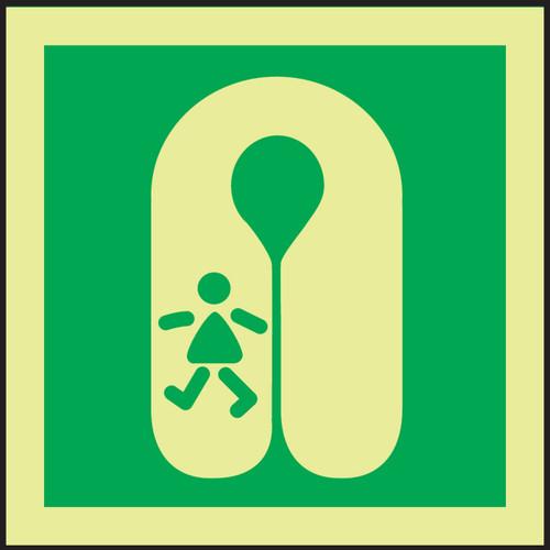 Life Jacket - Child IMO Sign