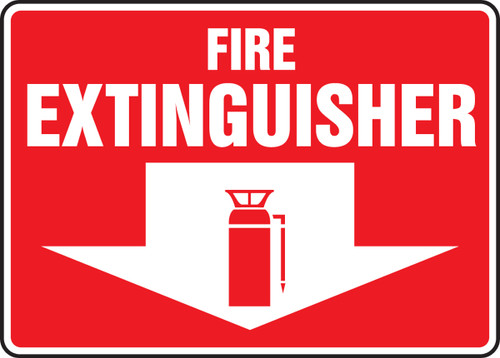 Fire Extinguisher Sign 6