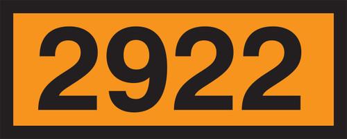 2922 (corrosive Liquid, Toxic, N.O.S.)