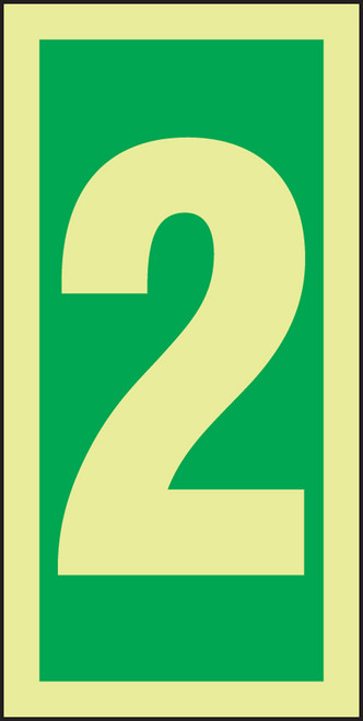Number 2 IMO Sign