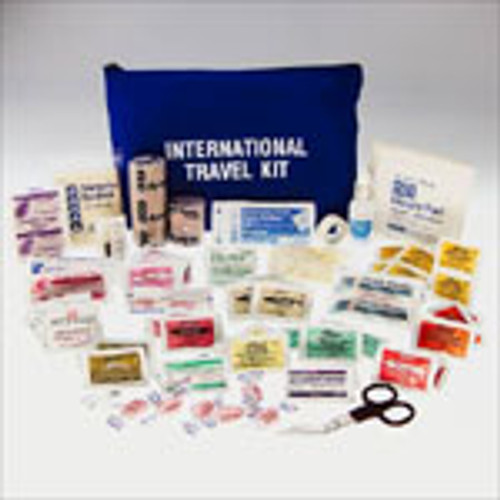 International Travel First Aid Kit- Filled- Click on Image For List of Contents- ITEM NOT AVAILABLE