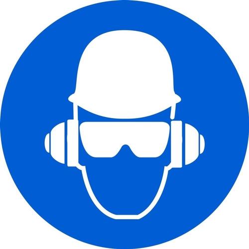 Wear Head Protection - Plastic - 6''