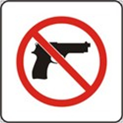 No Handgun Pictorial -Complies with Kansas Conceal/Carry Law