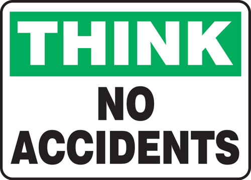 Think - No Accidents