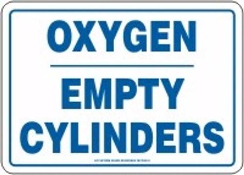 Oxygen Empty Cylinders