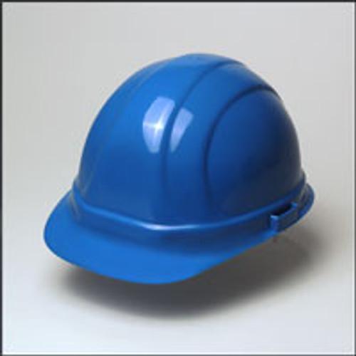 Hard Hat w/ 6 Point Suspension- Blue Hard Hat