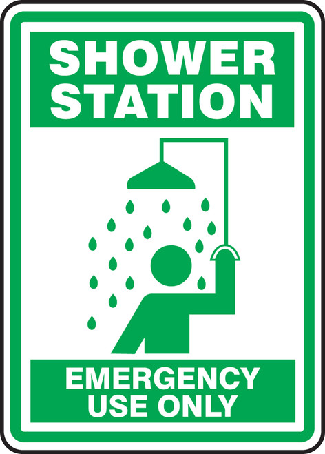 Shower Station Emergency Use Only