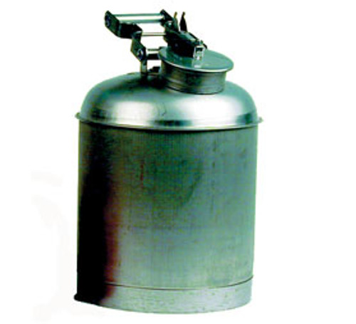 Stainless Steel Disposal Safety Can- 5 gal capacity- Color