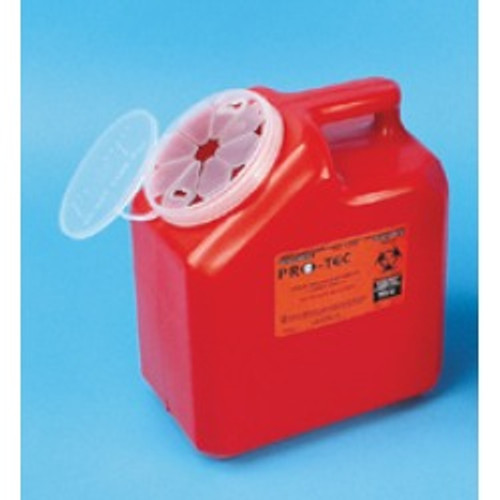 Sharps Disposable Containers 2 Gallon - Case of 8 (containers only)