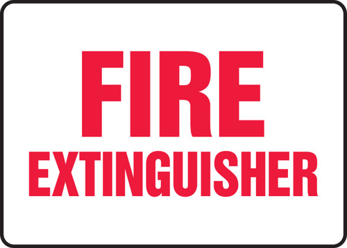 Fire Extinguisher Sign 5