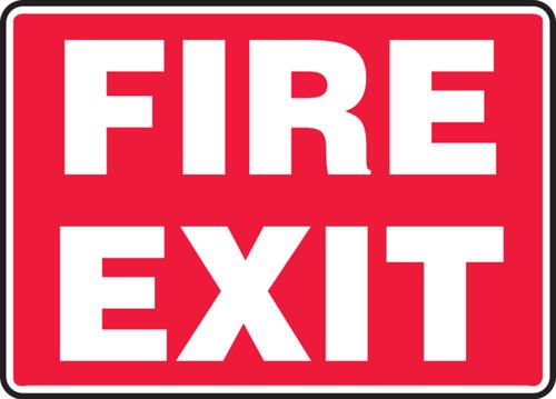 Fire Exit - .040 Aluminum - 7'' X 10'' 1