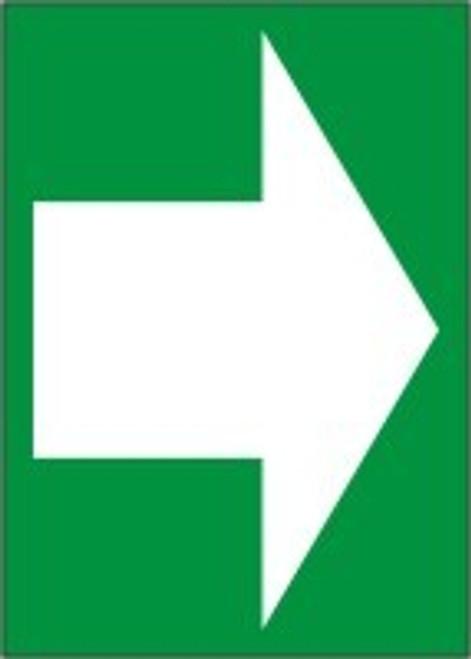 Arrow Sign White Arrow On Green