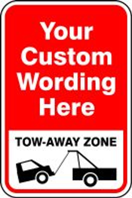 ___ Tow-away Zone (w/graphic)