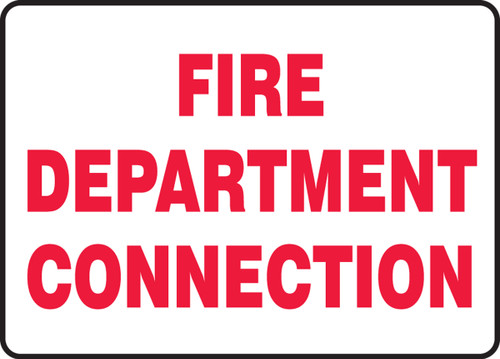 Fire Department Connection - Accu-Shield - 7'' X 10''