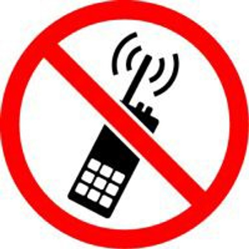 No Portable Transmitters