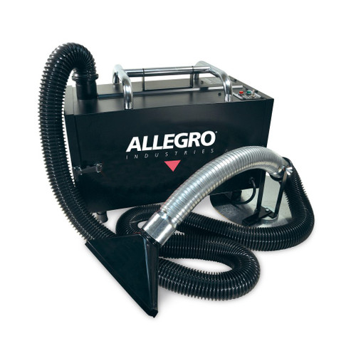 Allegro 9450 Portable Fume Extractor w/ Main Filter and Pleated Pre-Filter