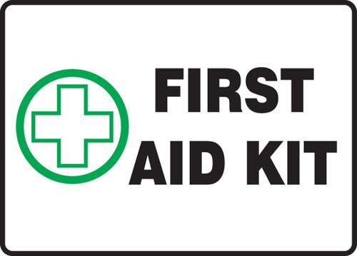 First Aid Kit - Plastic - 7'' X 10''