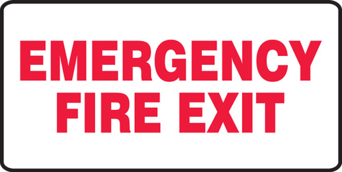Emergency Fire Exit
