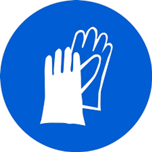 Wear Hand Protection - Plastic - 6''